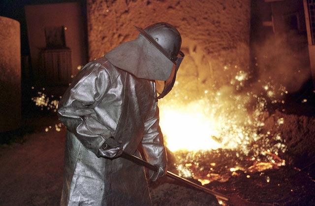 German Steel Mill Cyber-Kinetic