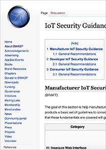 OWASP-IoT-Security-Guidance-Web